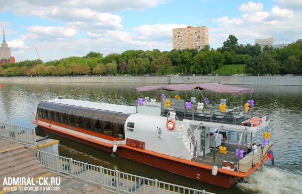 """Теплоход """"Светоч"""" - мероприятие от судоходной компании Адмирал"""